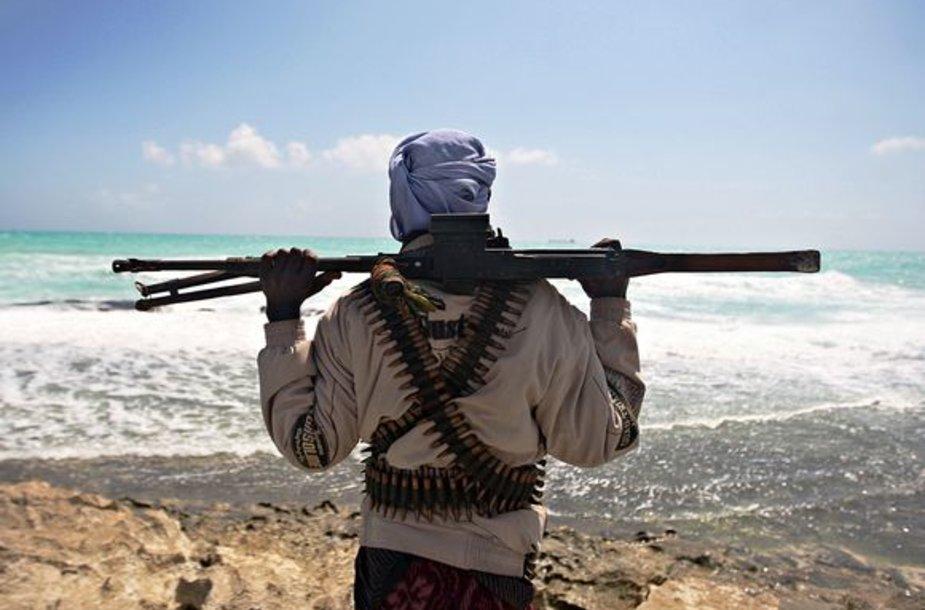 Somalio piratas