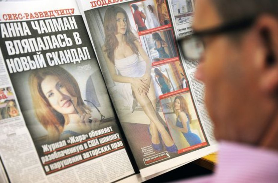 Anna Chapman įsivėlė į naują skandalą
