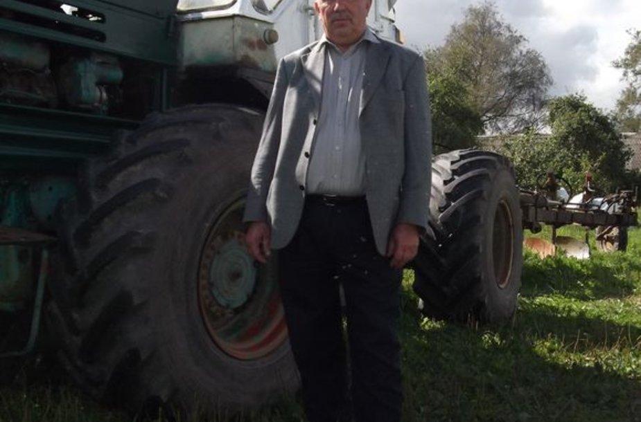 Ūkininkas A.Ladauskas