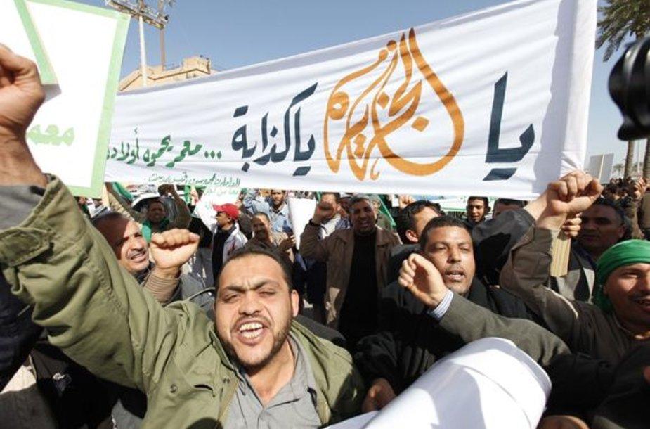 Protestai Libijoje
