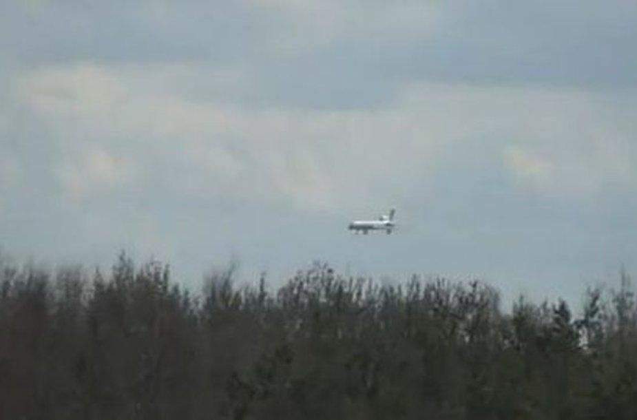 Neįtikėtinas lėktuvo nusileidimas
