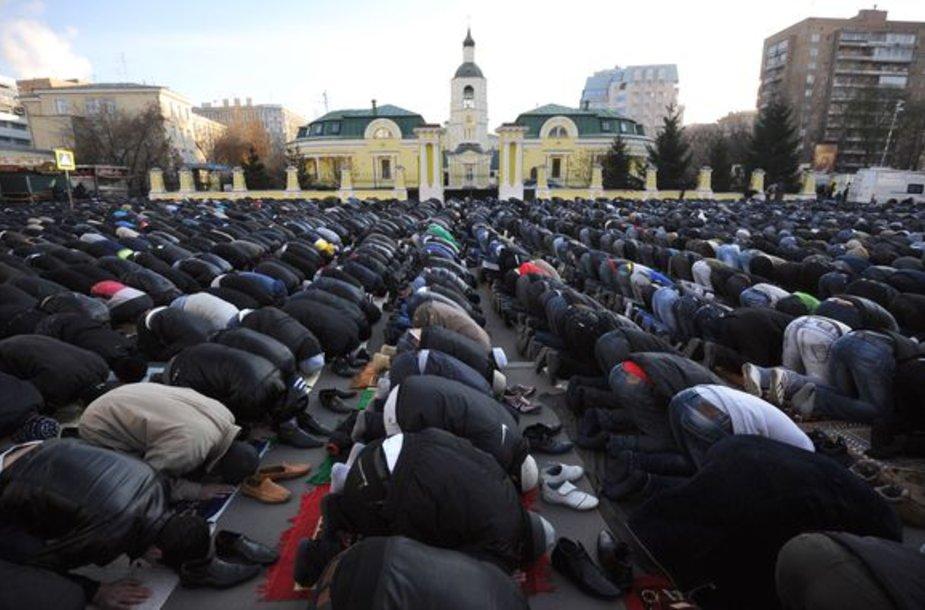 Musulmonai Maskvoje