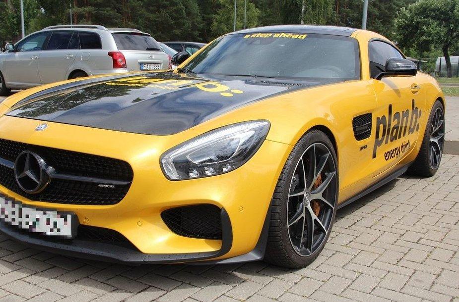 """Mercedes-Benz AMG GTS"""