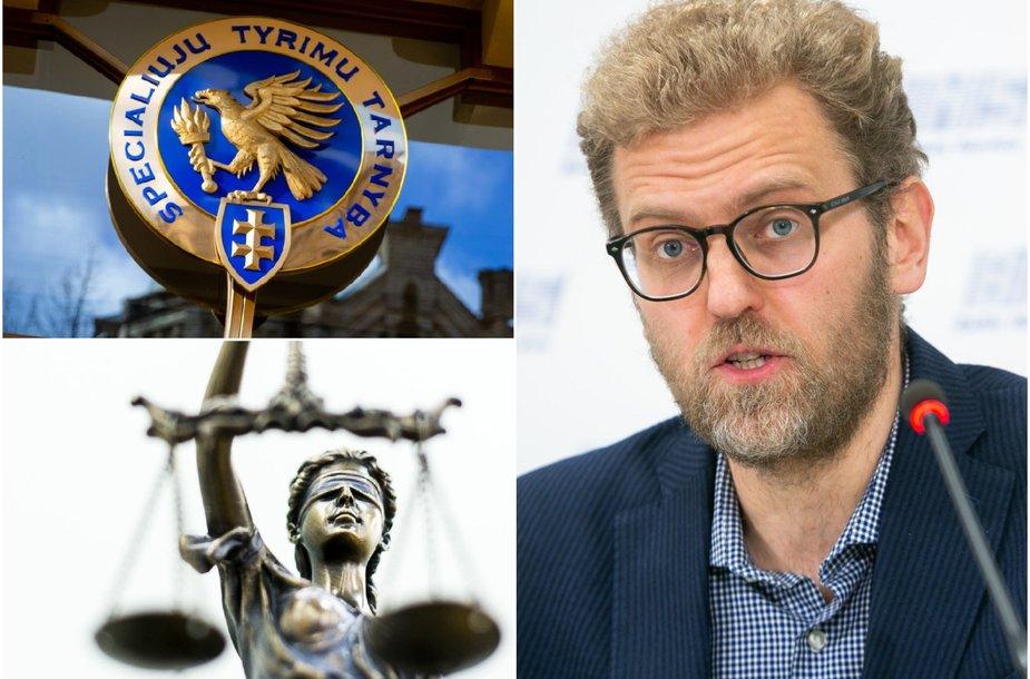Teisėsaugos kaltinimų pats sulaukęs teisininkas Giedrius Danėlius teisingumo tikisi teisme.