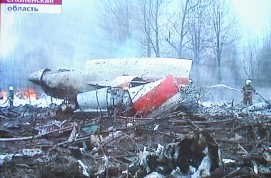 Lenkijos prezidento lėktuvo katastrofa