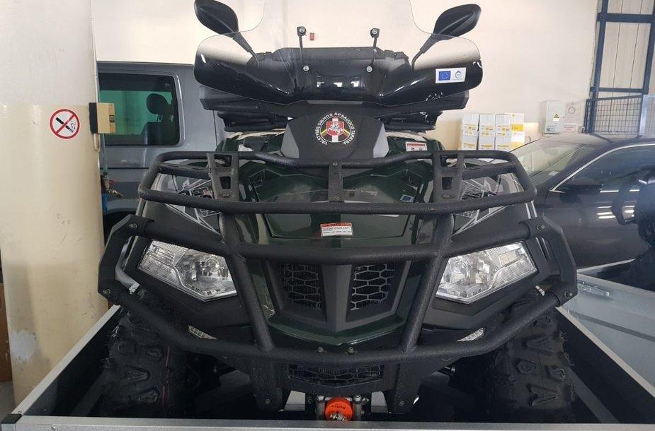 "VSAT motociklas ""Hisun HS550ATV-2"""