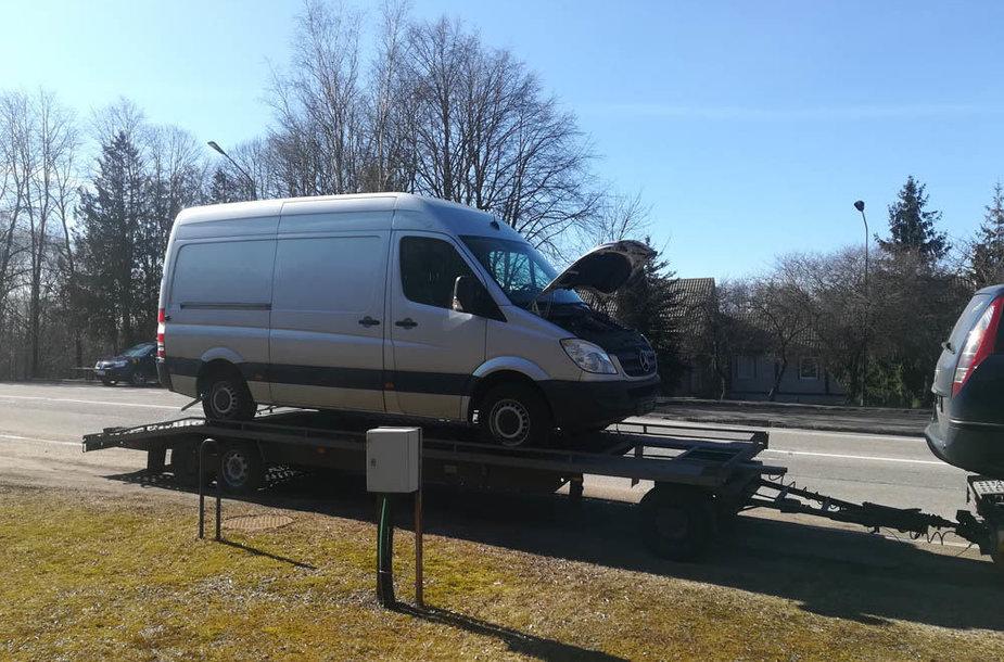 """Vogtas mikroautobusas """"Mercedes-Benz Sprinter"""""""