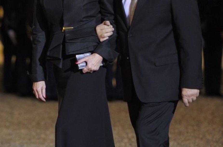Michele Alliot-Marie ir Patrickas Ollier