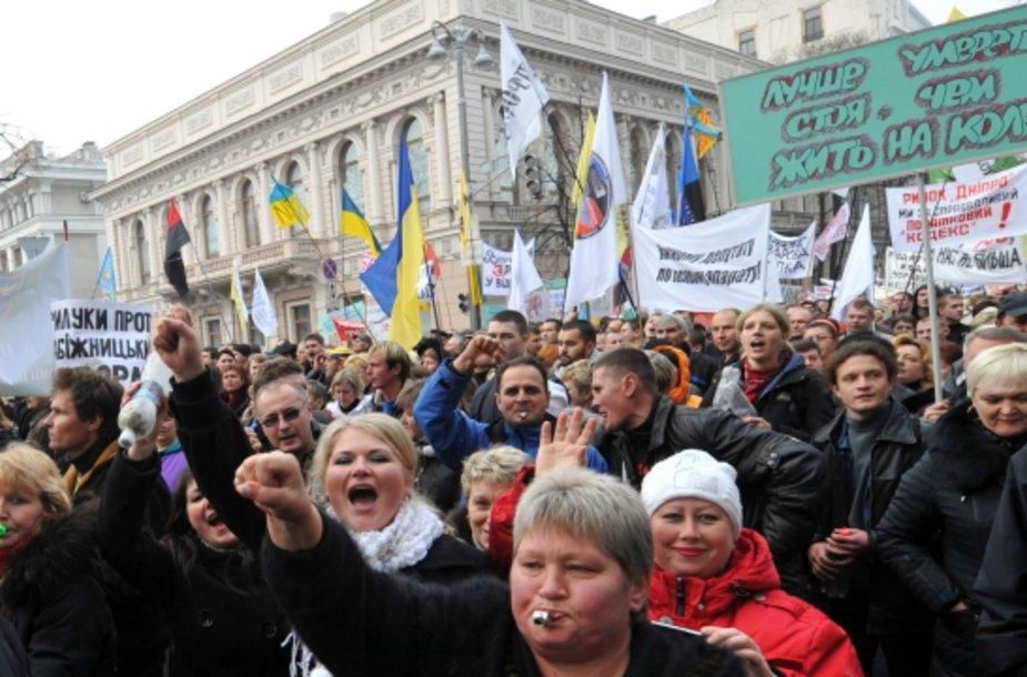 Ukrainiečių protestas