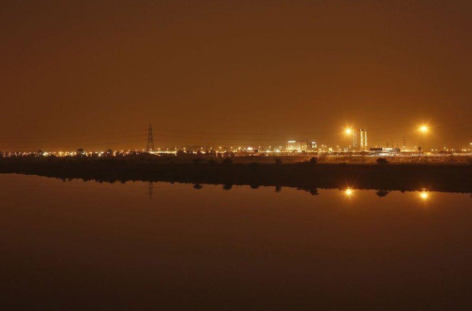 Indija naktį