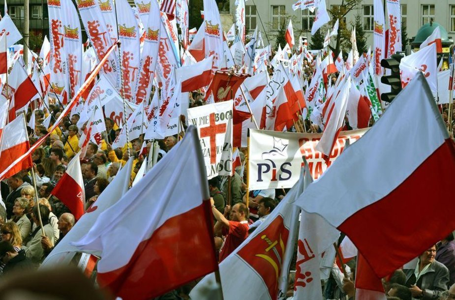 Protestas Lenkijoje