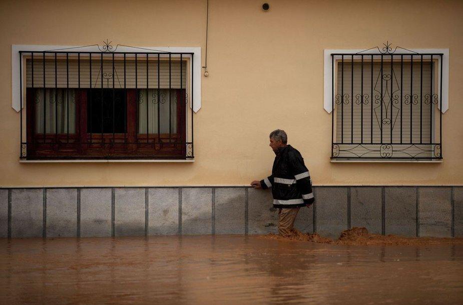 Potvynis Ispanijoje