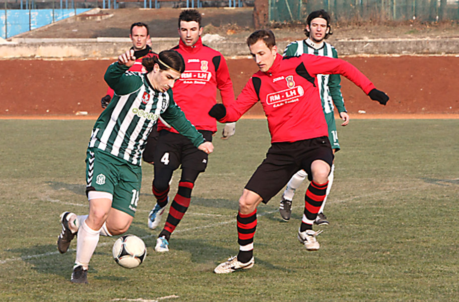 "VMFD ""Žalgiris"" ir ""Čelik Zenica"" rungtynės."