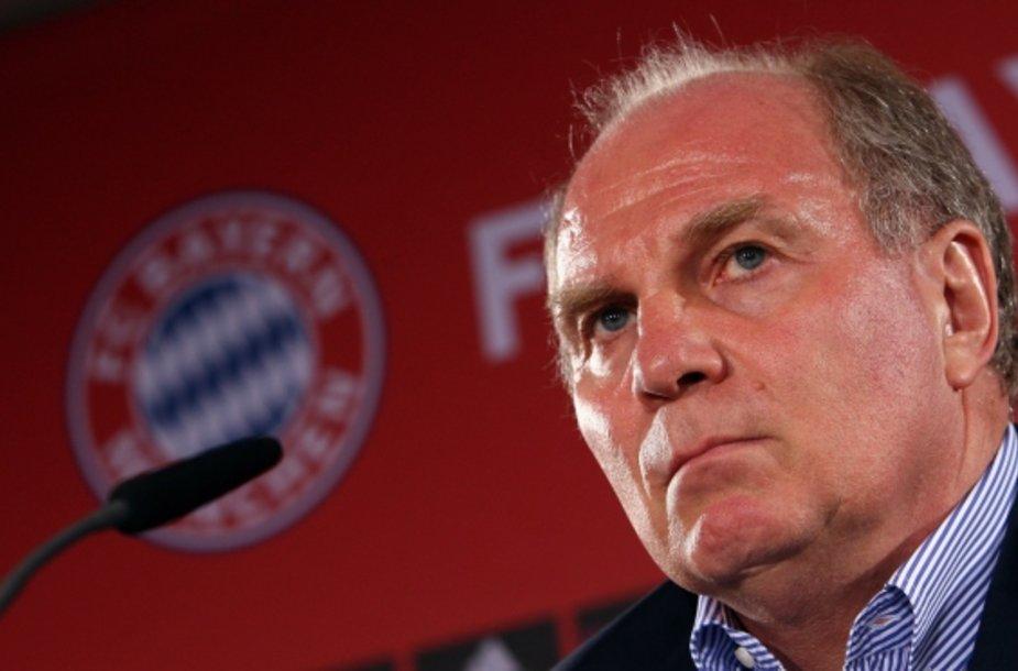 """Bayern"" prezidentas Uli Hoenessas."