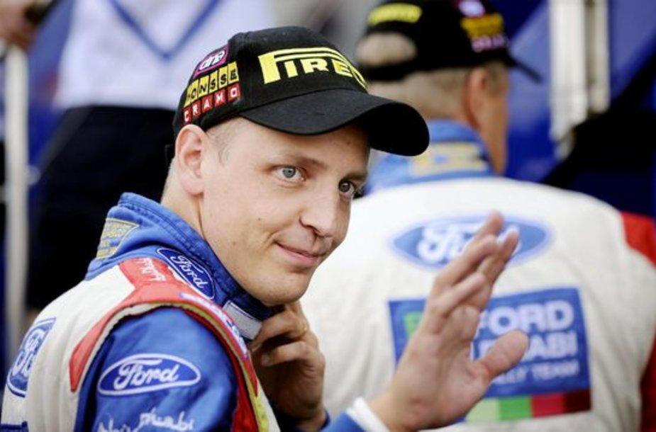 M.Hirvonenui triumfas Suomijoje buvo jubiliejinis, 10-asis, laimėtas WRC etapas.