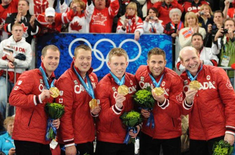Kanadiečiai Vankuverio olimpinėse žaidynėse iškovojo jau 13 aukso medalių