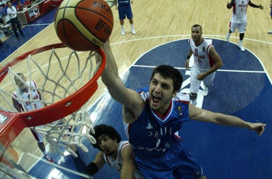 Serbai Jordaniją tiesiog nušlavė nuo kelio