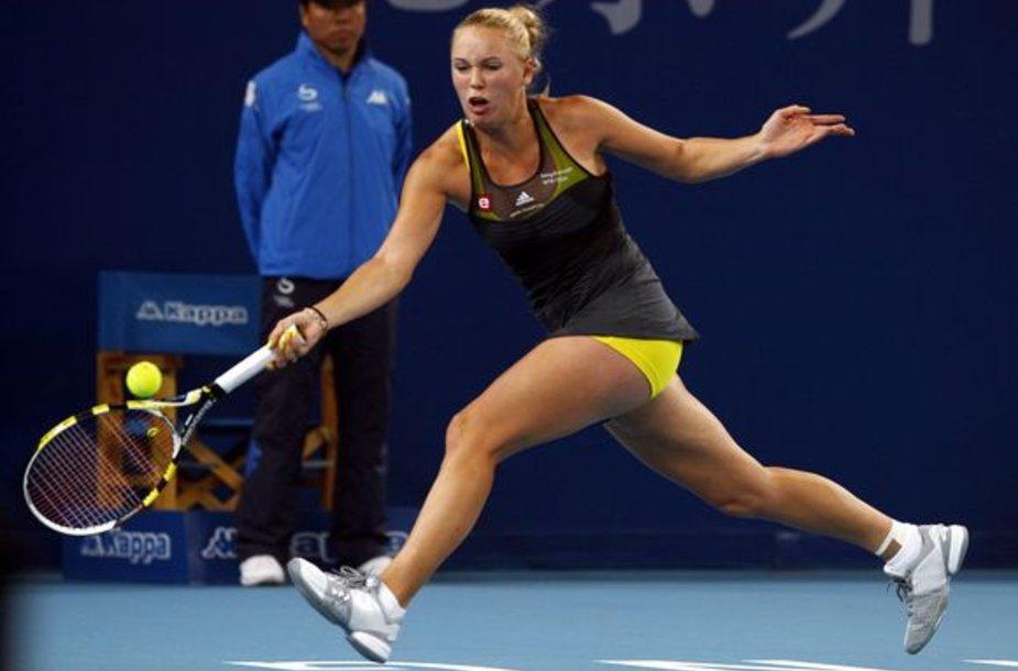 C.Wozniacki pakils į pirmąją WTA reitingo vietą