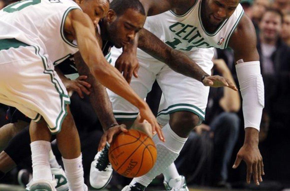 """Bostono """"Celtics"""" pirmauja Rytų konferencijoje."""