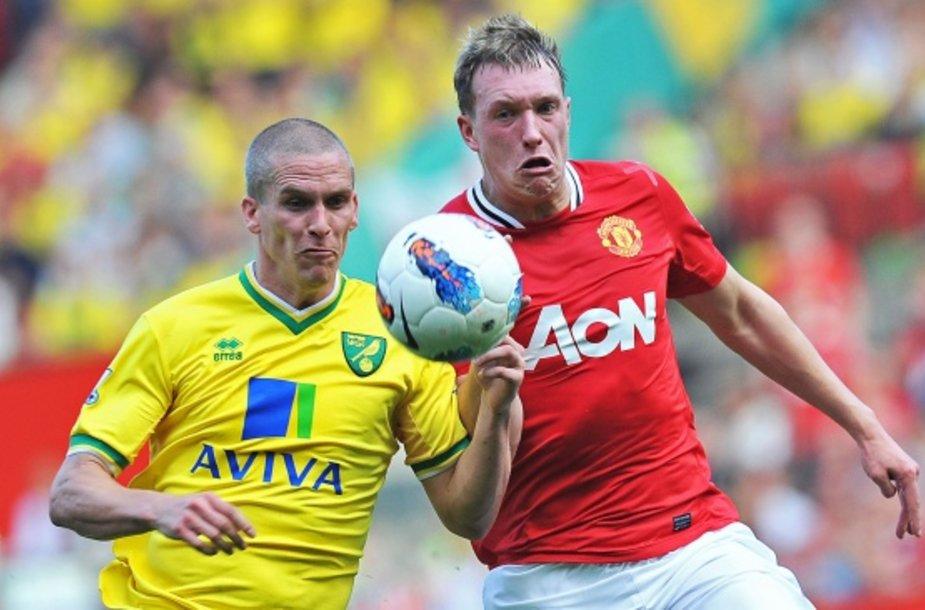 """Norwich"" ir ""Manchester United"" rungtynės."
