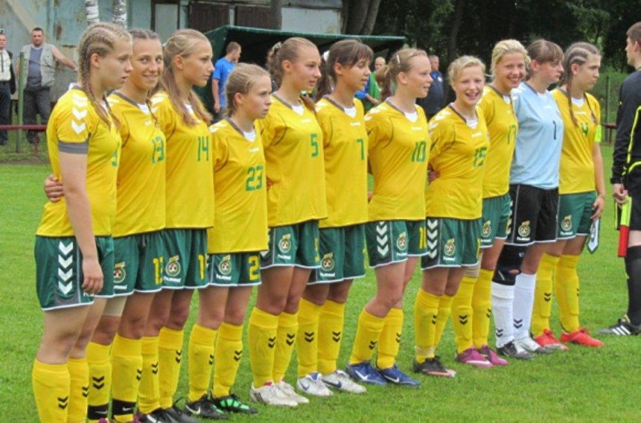 Lietuvos U-17 merginų rinktinė.