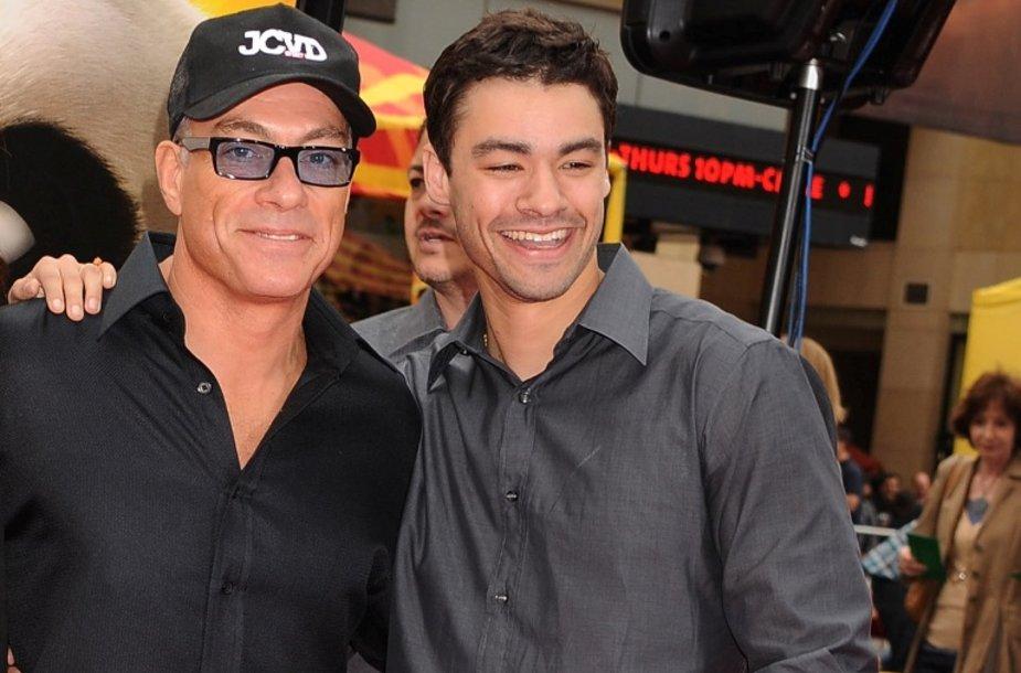 Jeanas-Claude'as Van Damme'as su sūnumi Kristopheriu