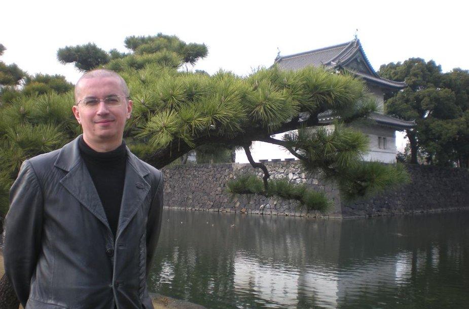 Aleksandras Pogrebnojus Japonijoje