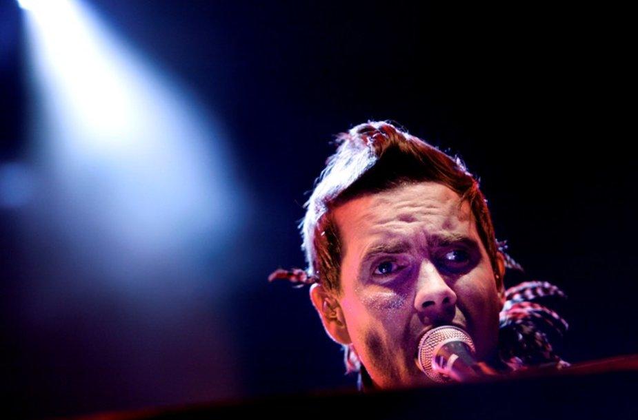 """Sigur Ros"" vokalistas Jonsi Thoras Birgissonas"
