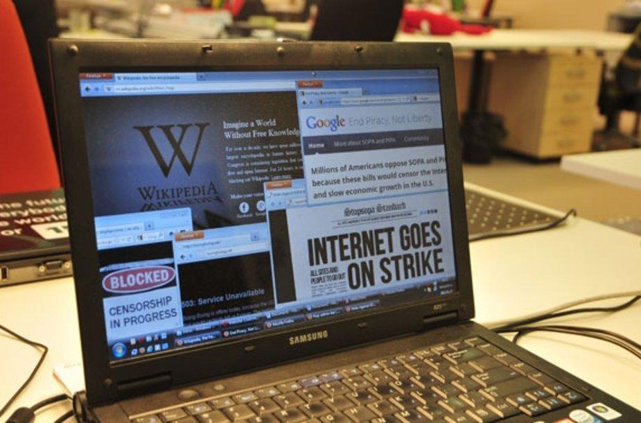 Interneto bendruomenės streikas