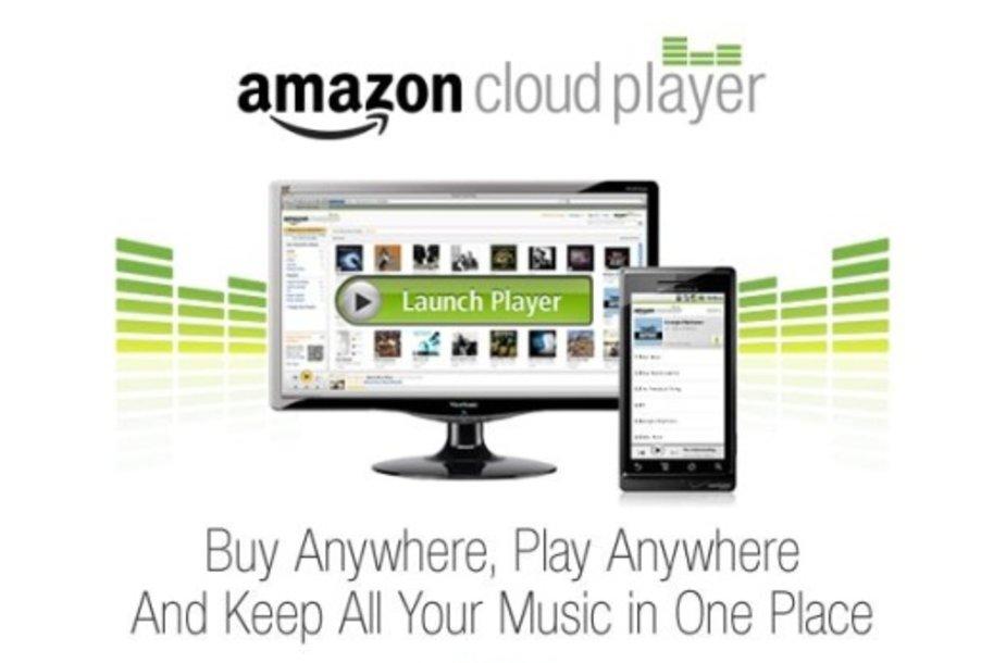 """Virtualus """"Amazon"""" muzikos grotuvas """"Cloud Player""""."""