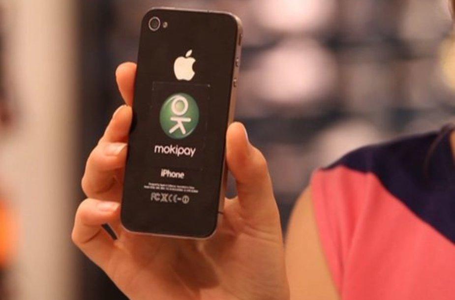 """Mobiliųjų mokėjimų sistema """"Mokipay"""""""