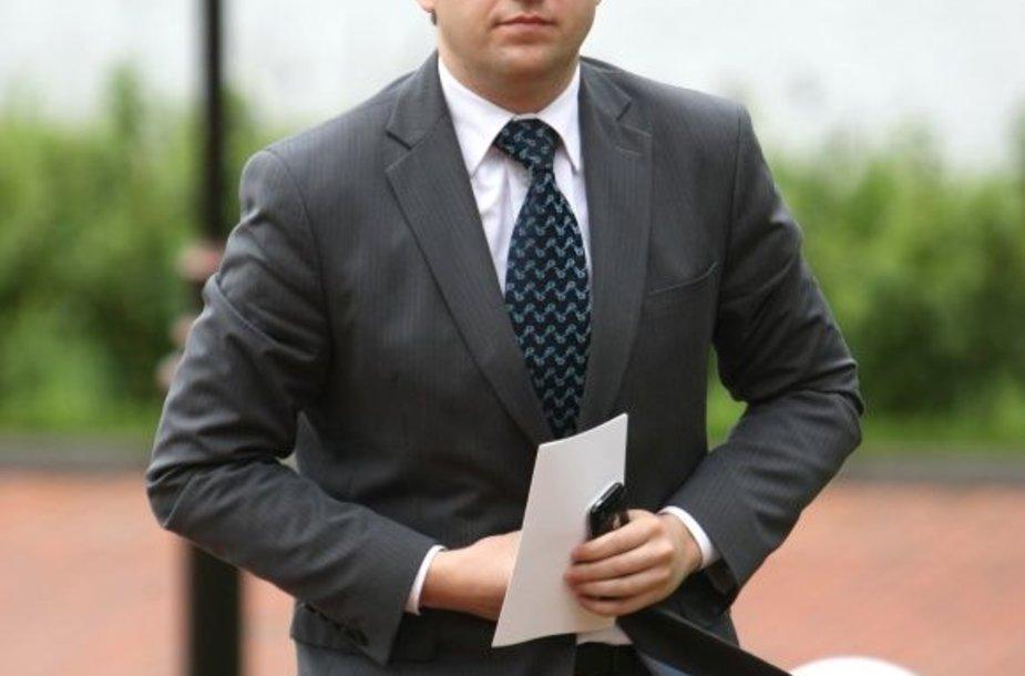 Darbo partijos frakcijos Seime seniūnas Vytautas Gapšys