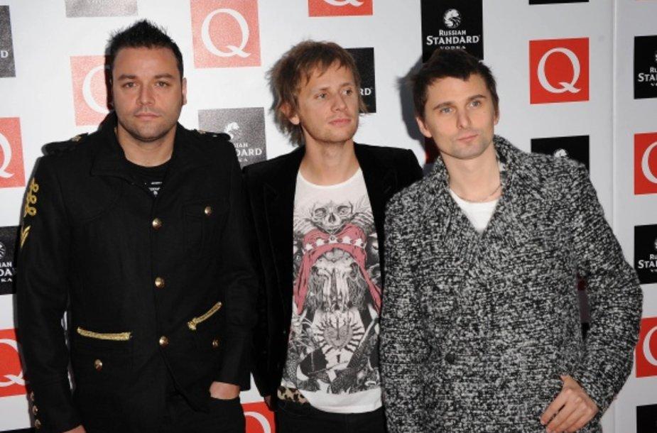 """Alternatyvaus roko grupė """"Muse"""""""