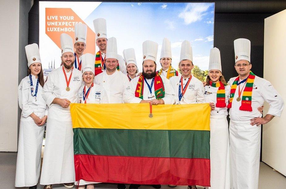 Lietuvos nacionalinė šefų rinktinė Liuksemburge