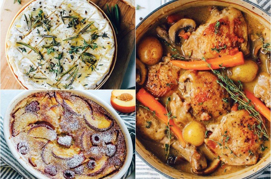 Prancūsiškų patiekalų trejetukas