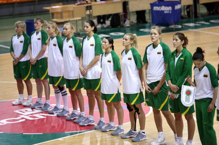 Lietuvos moterų krepšinio rinktinė.