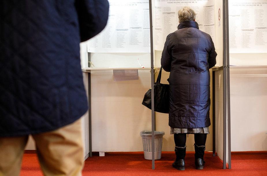 Rinkimai Kauno rajone