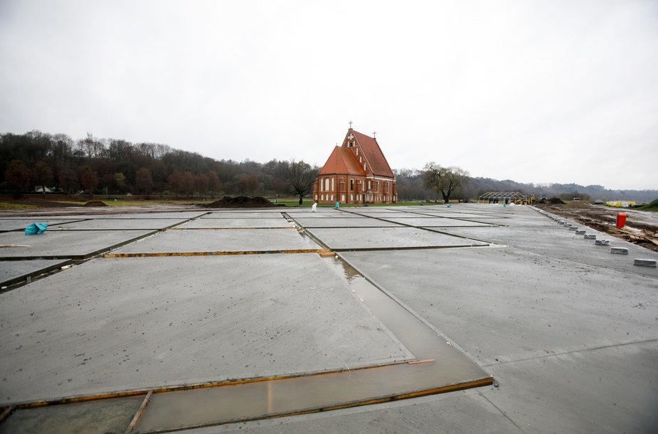 Zapyškio bažnyčios aplinkos rekonstrukcija