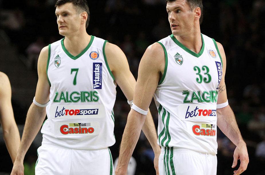 Broliai Darjušas ir Kšištofas Lavrinovičiai