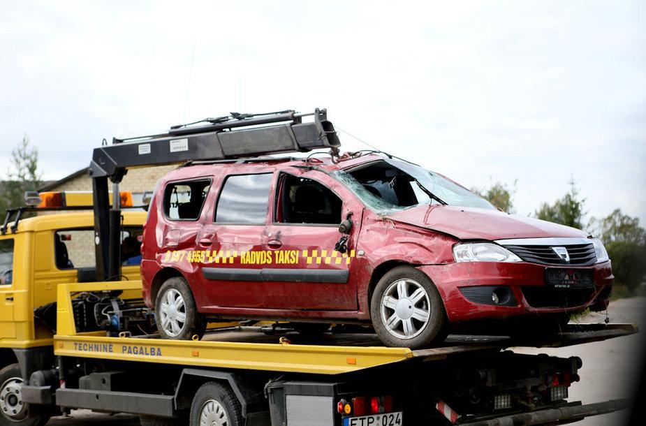 Taksi po avarijos