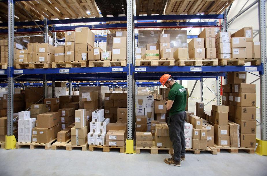 Logistikos centro atidarymas