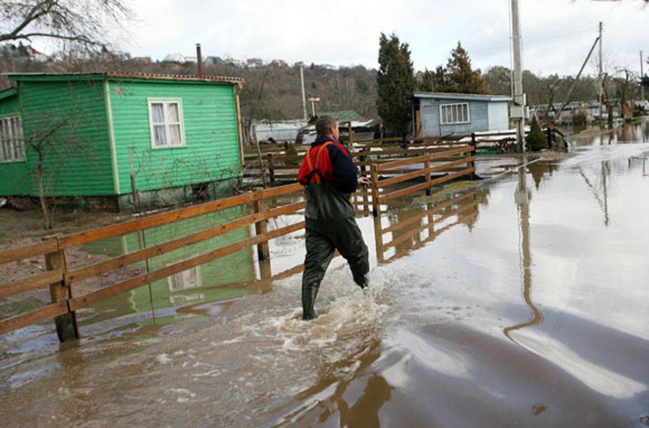 "Potvynis sodų bendrijoje ""Krantas"""