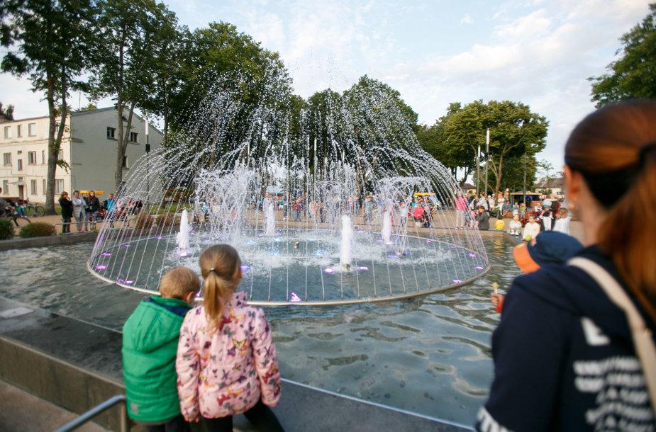 Grojantis Palangos fontanas