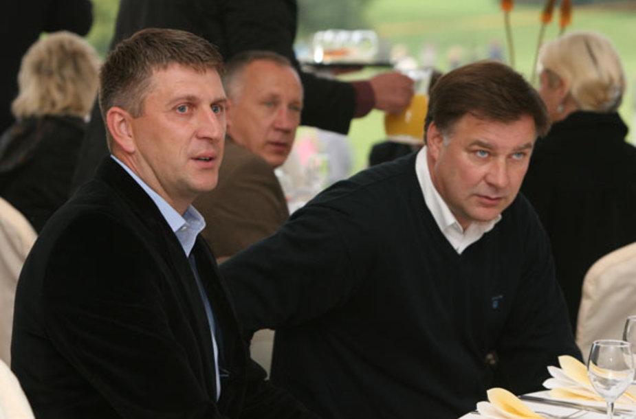 Darius Maskoliūnas ir Rimvydas Samulėnas