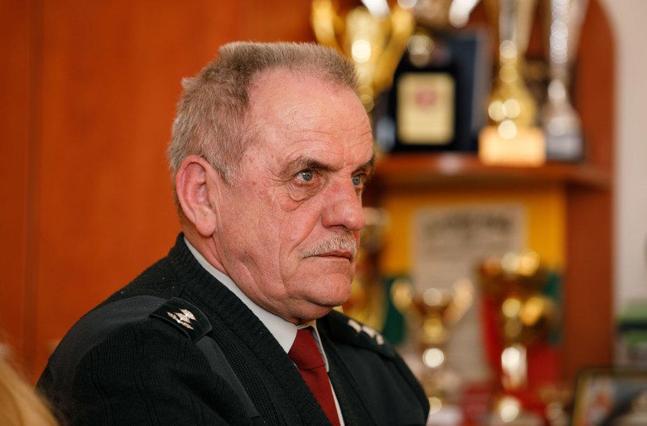 Licėjaus vadovas Viktoras Daunys