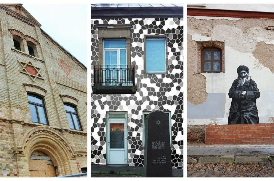 Turistinių objektų, primenančių litvakų istoriją, galima rasti visoje Lietuvoje