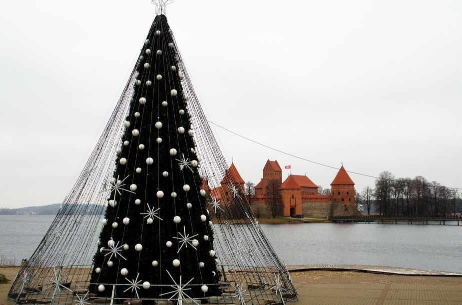 Trakų miesto eglę šiemet nušvies 12 000 lenpučių