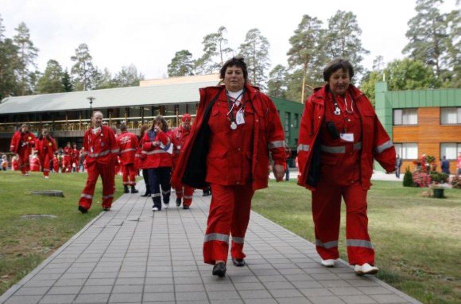 Greitosios pagalbos medikų žaidynės Lietuvoje rengiamos trečią kartą.