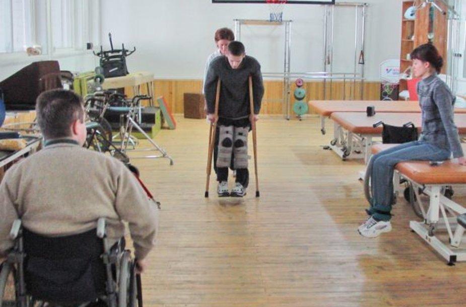 Tradicinė Kauno rajono neįgaliųjų sporto šventė skirta padėti integruotis į visuomenę negalią turintiems žmonėms.