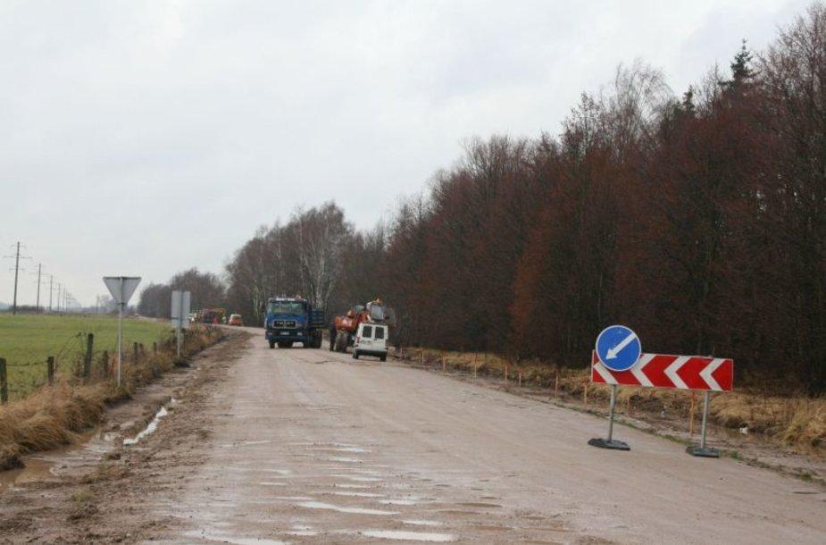 Kauno rajono keliams europinės lėšos panaudojamos pirmąkart